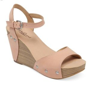 Lucky Brand | Marshha Platform Wedge Sandals